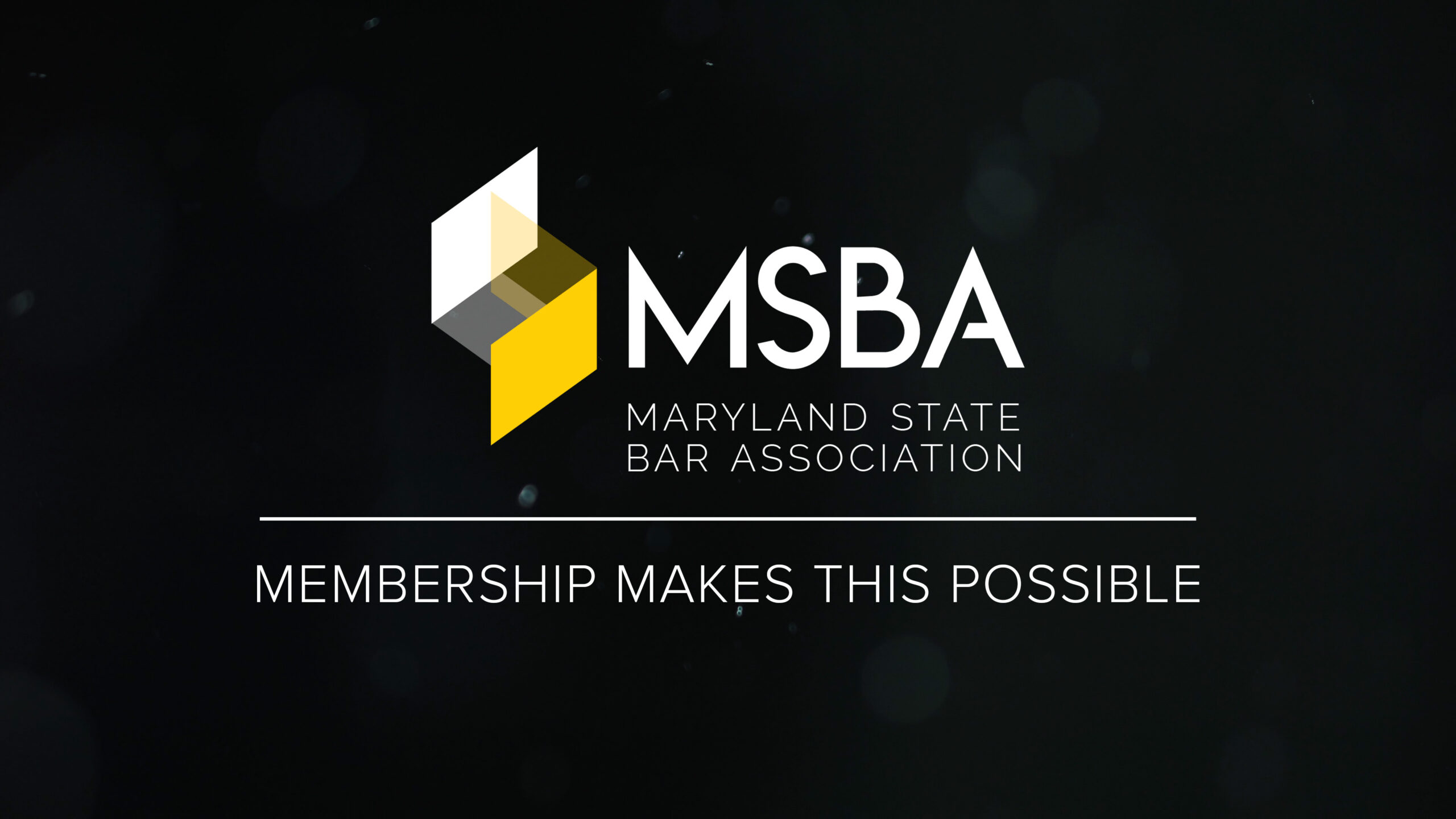 "WATCH: ""Membership Makes This Possible"""