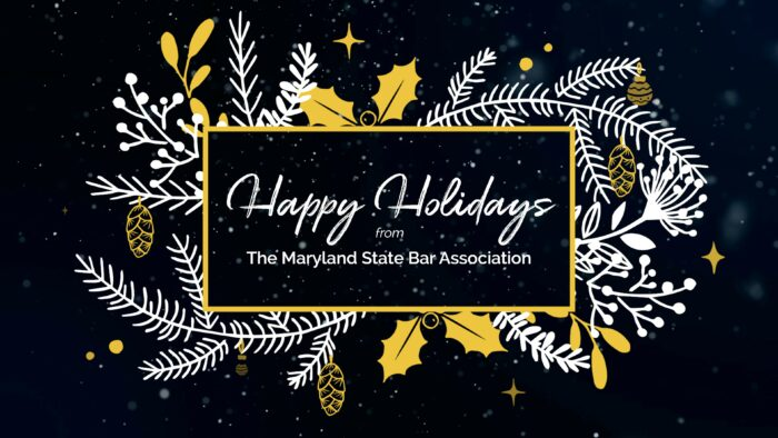 Happy Holidays from the MSBA