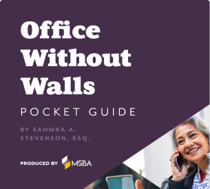 New Member Benefit:  Office Without Walls Pocket Guide