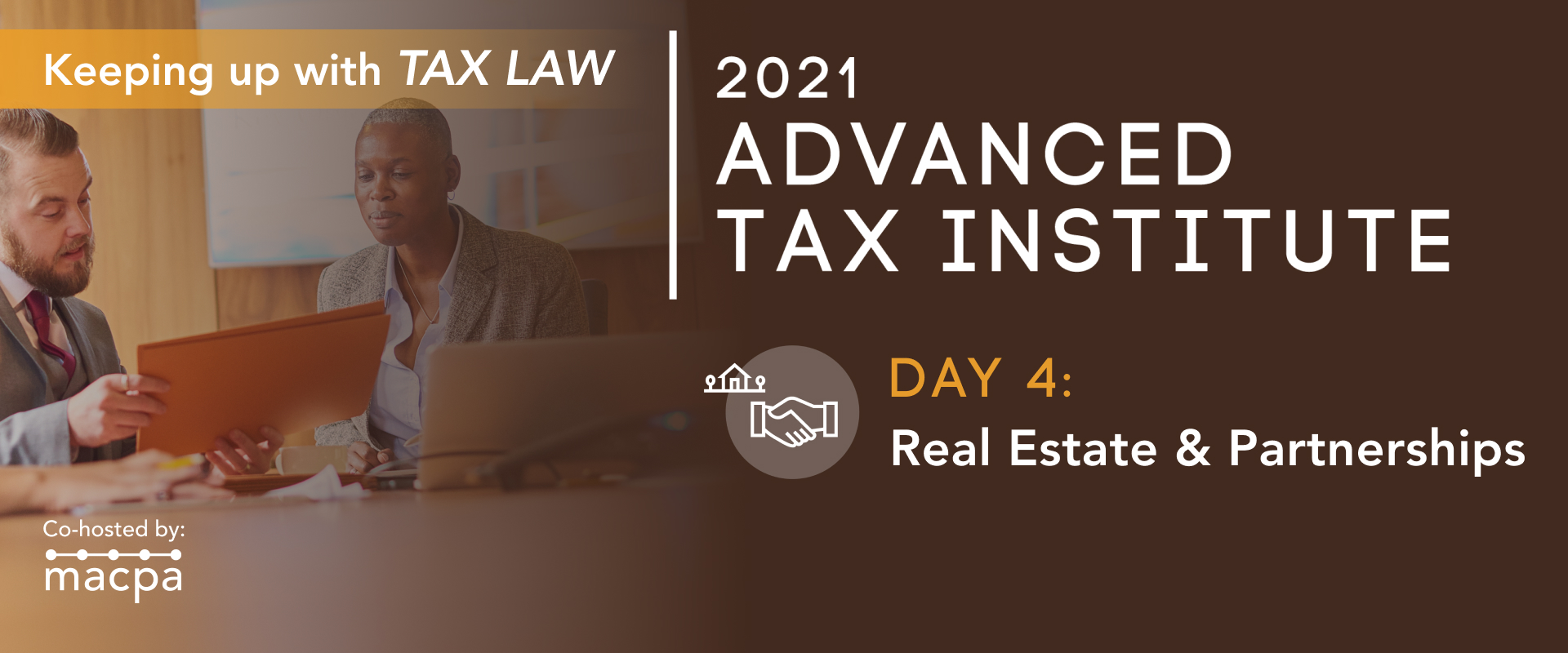 Advanced Tax Institute – Real Estate and Partnerships (Day 4)