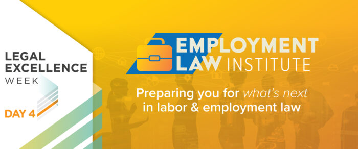 Employment Law Institute 2021