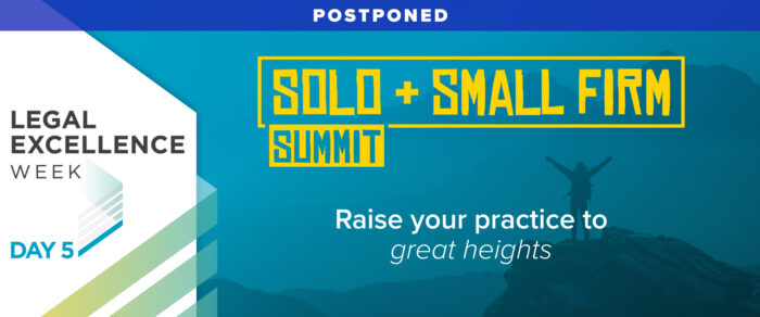 2021 Solo & Small Firm Summit