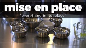 Getting our 'Mise en Place' for CFOs, Accounting and Finance Pros