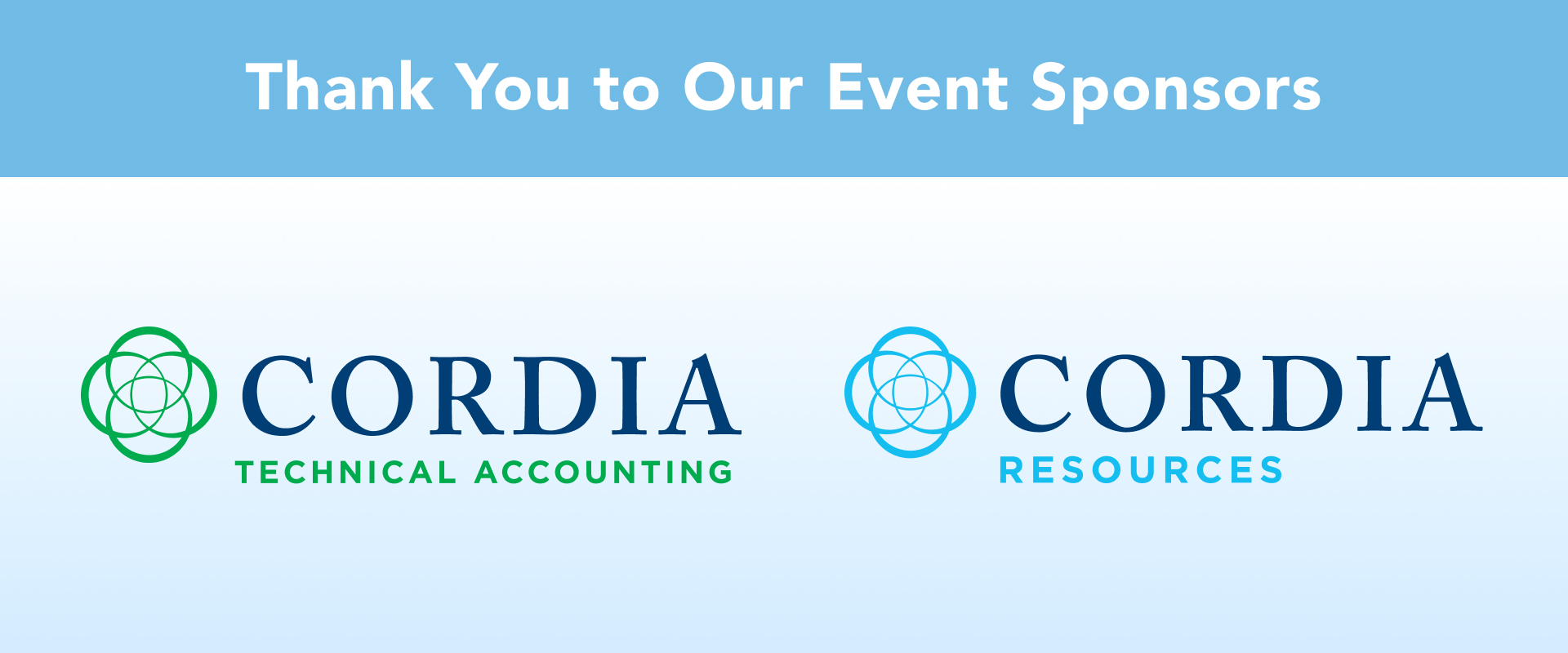 MACPA Spring Town Hall Sponsors Corida Technical Accounting and Corida Resources